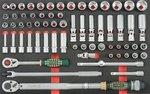 Carrello a 8 cassetti con attrezzi 405pc (EVA)