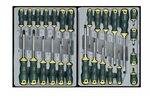 Carrello a 8 cassetti con utensili da 376 pz.