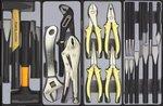 Carrello a 8 cassetti con 286 utensili da 286 pz.