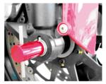 Ducati Assale anteriore dellattrezzo di allineamento Ducati diametro 30 mm