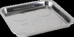 Ricambi piatto, magnetico, 265x290 mm