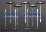 Carrello portautensili 8 cassetti con 296 pezzi di utensili
