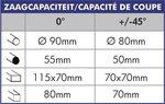 Sega troncatrice - diametro 315mm MKS315N