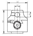 Testa di taglio universale senza alimentazione automatica KKC3, 75mm