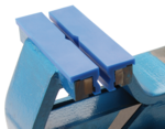 Ganascia di protezione morsa larghezza 125 mm in plastica in 2 pezzi