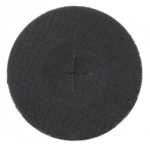 Platorello in gomma diametro 125 mm