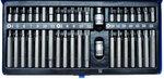 Set di punte 40 pezzi 6 lati (presa), XZN e Torx incl adattatori
