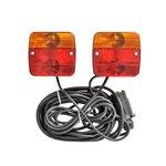 Set luci rimorchio con magneti 7,5+2,5M di cavo
