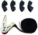 Cinturino a cricchetto con 4 coperture di protezione