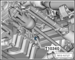 Utensile di bloccaggio albero a gomiti VAG FSI / TFSI