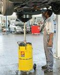 Unita di raccolta e scarico olio professionale 90 litri