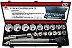 Serie di bussole 20 mm (3/4) 19 - 50 mm 20 pz