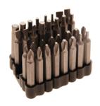 Set di bit di sicurezza 50 mm, 33 parti