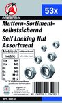 53-delige Nut assortiment, Self-Locking