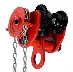 Cat 2 tonnellate con trasmissione a catena per paranchi