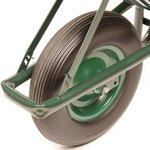 Carriola in metallo anti-perdita ruota