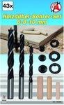 Penna in legno 43 pezzi / set di trapano