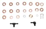 Assortimento di anelli atomizzatori in rame, 551 parti