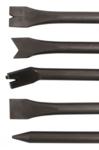 Set di scalpelli a percussione ad aria compressa a 5 pezzi