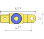 Adattatore di disconnessione batteria moto