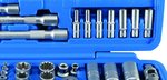 Set chiavi a bussola 6,3 mm (1/4) / 10 mm (3/8) / 12,5 mm (1/2) 192 pezzi