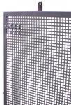 Perfopanel metallo grigio metallizzato 200x94cm