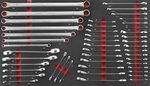 Carrello portautensili Jumbo 610 pezzi (schiuma)