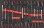 Pratico carrello porta attrezzi 405 pezzi