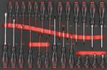 Pratico carrello porta attrezzi 326 pezzi