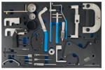 Officina Carrello 7 cassetti Set di utensili per la sincronizzazione dei motori