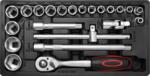 Carrello portautensili 1 porta laterale 7 cassetti con 197 utensili