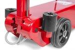 Martinetto a rulli idropneumatico con una capacita di 50 tonnellate