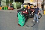 Serbatoio benzina 110 litri atex, pompa 12v, sl auto. Pistola