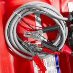 Serbatoio diesel rosso pe 220 litri, pompa 12v