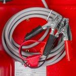 Serbatoio diesel rosso pe 440 litri, pompa 12v
