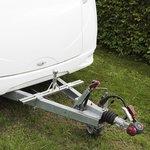 Adattatore caravan per portabiciclette (modello basso)