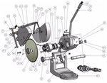 Diametro della troncatrice 315mm