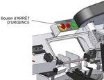 Sega a nastro mobile - abbassamento avanzamento diametro 128mm