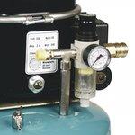Compressore aerografo a bassa rumorosita 8 bar, 9 litri