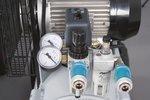 Caldaia a cinghia con compressore ad olio zincato 10 bar - 50 litri