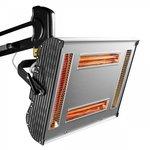 Essiccatore di vernice a infrarossi con 4 lampade