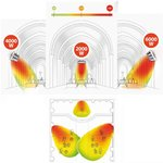 Riscaldatore industriale a infrarossi 2KW