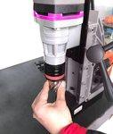 Diametro di avanzamento del trapano magnetico 38 x 35 mm