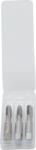 Set frese per filettatura anteriore, centrale e trimmer M5 x 0,8 3 pz