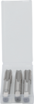Set frese per filettatura anteriore, centrale e trimmer M16 x 2,0 3 pz