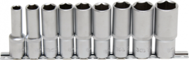 Set di chiavi ad esagono incassato, profondita 12,5 mm (1/2) 10   24 mm 9 pezzi