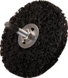 Mola nera diametro 100 mm 16 mm foro di fissaggio 16 mm