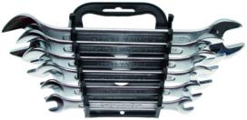 Set di chiavi a 6 pezzi, secondo din 3110, 6x7-17x19 mm