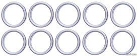 Assortimento di anelli di tenuta per BGS 126 Ø 13 / 16,5 mm 10 pezzi