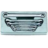 Set di chiavi a doppio anello Torx 6 parti
